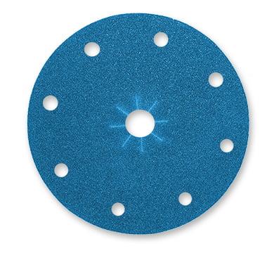 Blue Dolphin Zirkonium schuurpapier 150mm met stofgaten