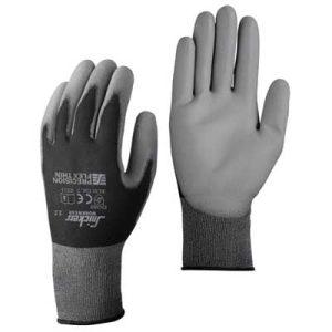 Werkhandschoenen Snickers zwart grijs L