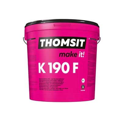 Emmer Thomsit K190F vezelversterkte PVC lijm en rubberlijm