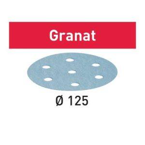 Festool schuurpapier Granat STF D15_9 schuurschijf diameter 125 mm Korrel 120