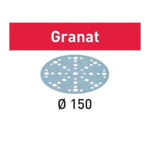 Festool schuurpapier Granat STF D150_48 schuurschijf diameter 150 mm Korrel 60