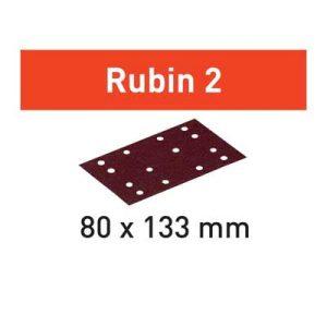 Festool schuurpapier STF schuurstrook diameter 80 mm bij 133 mm Korrel 80