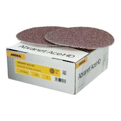 Mirka schuurpapier Abranet Ace HD schuurschijf diameter 150 mm korrel 40