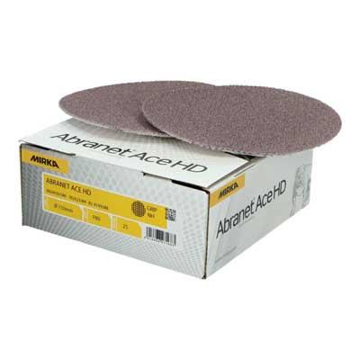 Mirka schuurpapier Abranet Ace HD schuurschijf diameter 150 mm korrel 80