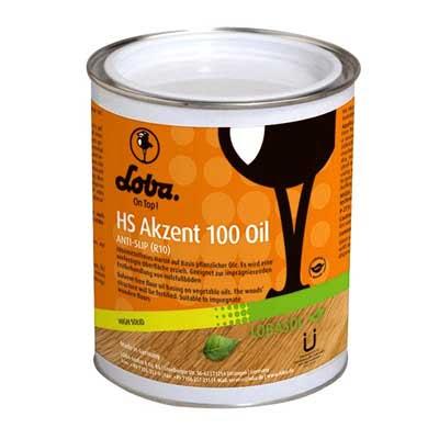 Lobasol HS Akzent 100 Oil Transparant (VL95) 0,75 liter