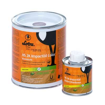 Lobasol HS 2K ImpactOil Color Grey 0,75 kilogram