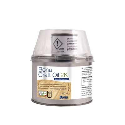 Bona Craft Oil 2K Light Grey 400 milliliter