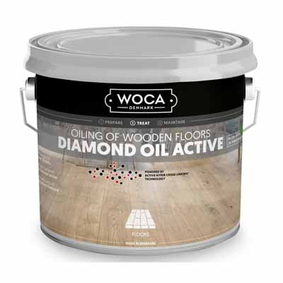 Woca Diamond Oil Active Naturel 2,5 liter