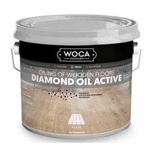 Woca Diamond Oil Active Wit 1 liter