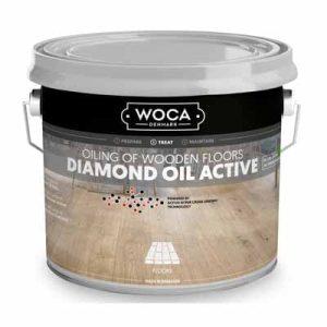 Woca Diamond Oil Active Smoke Brown 1 liter