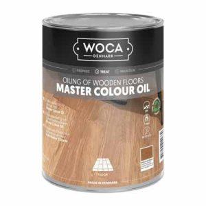 Woca Master Colour Oil 106 rhode island brown 1 liter