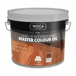 Woca Master Colour Oil 106 rhode island brown 2,5 liter