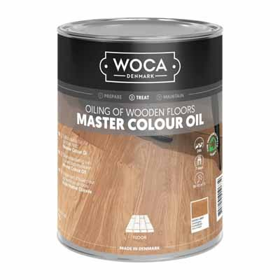 Woca Master Colour Oil 114 castle grey 1 liter