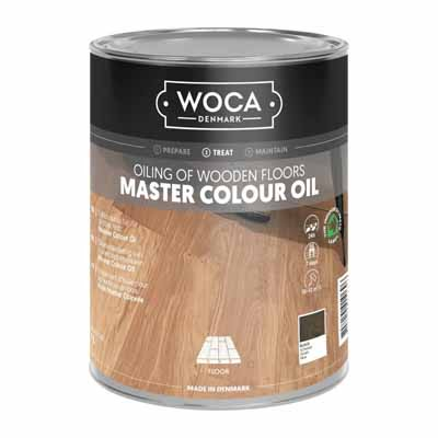 Woca Master Colour Oil 120 black 1 liter