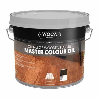 Woca Master Colour Oil 120 black 2,5 liter