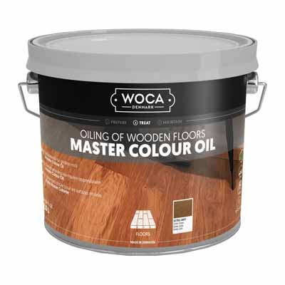 Woca Master Colour Oil 314 extra grey 2,5 liter