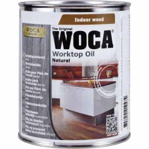 Woca Werkbladenolie naturel 0,75 liter