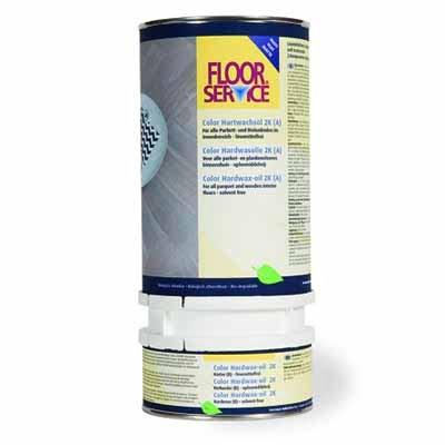 Floorservice Hardwas olie 2K Koro 972 1 liter