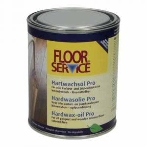 Floorservice Hardwas olie Pro naturel 001 5 liter