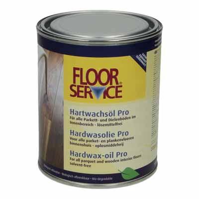 Floorservice Hardwas olie Pro naturel 001 5 liter