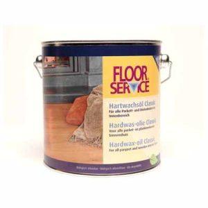 Floorservice Hardwas olie Classic Naturio 001 2,5 liter