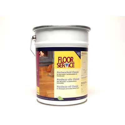 Floorservice Hardwas olie Classic Naturio 001 5 liter