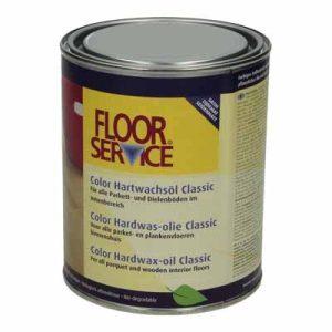 Floorservice Color Hardwas olie Classic Arctic 100 1 liter