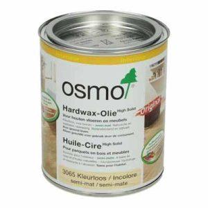 Osmo Hardwax Olie 3065 Kleurloos semi mat 0,75 liter