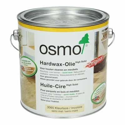 Osmo Hardwax Olie 3065 Kleurloos semi mat 2,5 liter