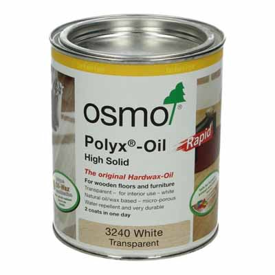 Osmo Polyx Rapid 3240 Transparant wit 0,75 liter
