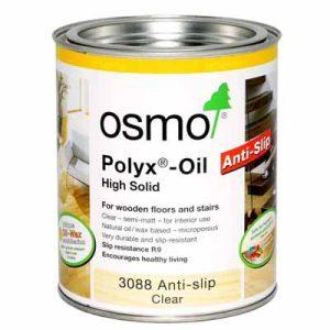 Osmo Hardwax Olie 3088 Kl. Anti Slip R9 2,5 liter