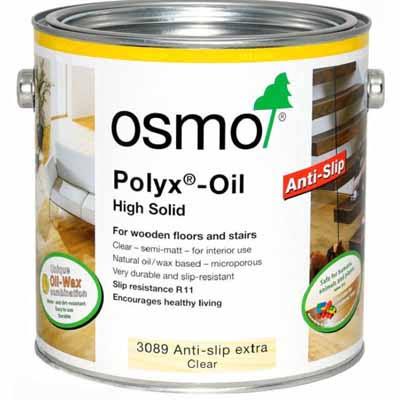 Osmo Hardwax Olie 3089 Kl. Ant Slip R11 2,5 liter