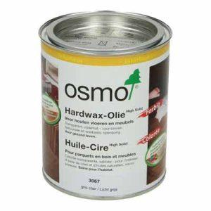Osmo Hardwax Olie 3067 Lichtgrijs 0,75 liter