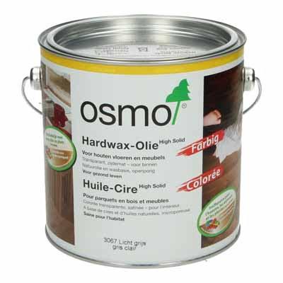 Osmo Hardwax Olie 3067 Lichtgrijs 2,5 liter