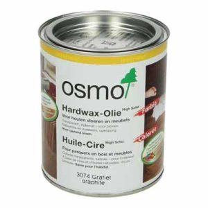 Osmo Hardwax Olie 3074 Grafiet 0,75 liter