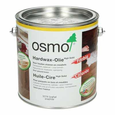 Osmo Hardwax Olie 3074 Grafiet 2,5 liter