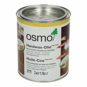 Osmo Hardwax Olie 3075 Zwart 0,75 liter