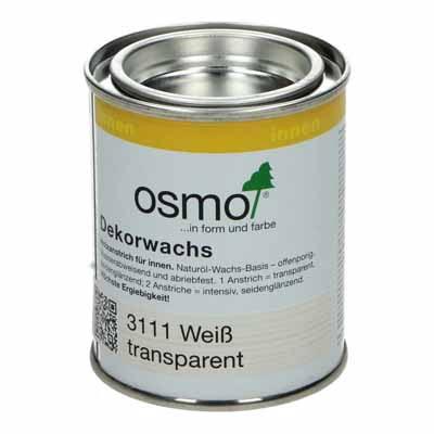 Osmo Decorwas TR3111 Wit 0,125 liter
