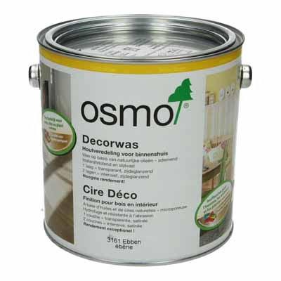 Osmo Decorwas TR3161 Ebbenhout 2,5 liter