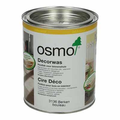Osmo Decorwas TR3136 Berken 0,75 liter