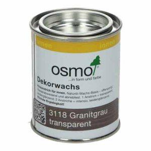 Osmo Decorwas TR3118 Granietgrijs 0,125 liter