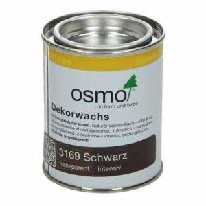 Osmo Decorwas Creativ 3169 zwart 0,125 liter