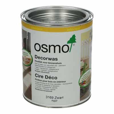 Osmo Decorwas Creativ 3169 zwart 0,75 liter