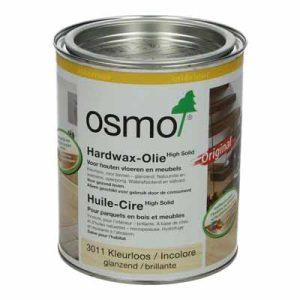 Osmo Hardwaxolie kleurloos 3011 glanzend 0,75 liter