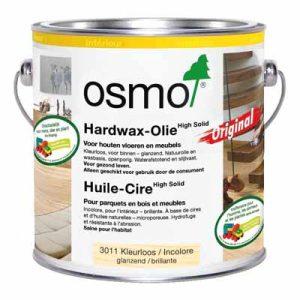 Osmo Hardwaxolie kleurloos 3011 glanzend 2,5 liter