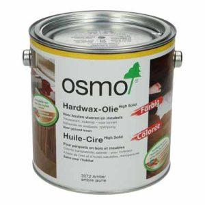 Osmo Hardwax Farbig 3072 Amber 2,5 liter