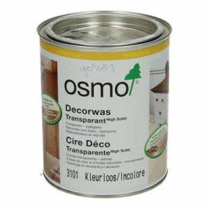 Osmo Decorwas Transparant 3101 kleurloos 0,75 liter