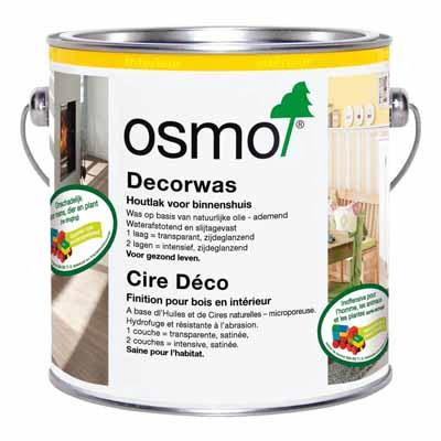 Osmo Decorwas Transparant 3101 kleurloos 2,5 liter