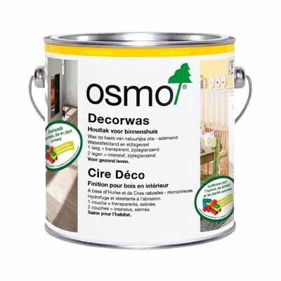 Osmo Decorwas Creativ 3186 Wit mat 0,125 liter