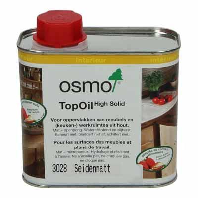 Osmo TopOil 3028 Kleurloos zijdemat 0,5 liter